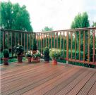 Фото террас из тропической древесины 2